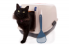 cat peeing in litter box